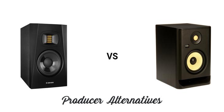 ADAM Audio T5V vs KRK ROKIT 5 G4