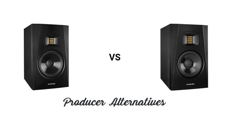 ADAM Audio T5V vs T7V