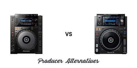 Pioneer CDJ-900NXS vs XDJ-1000MK2